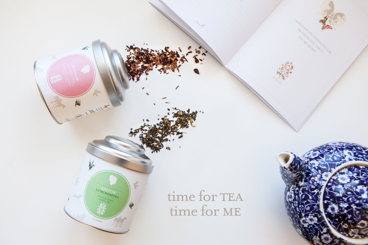 New! Bestow Organic Tea Range