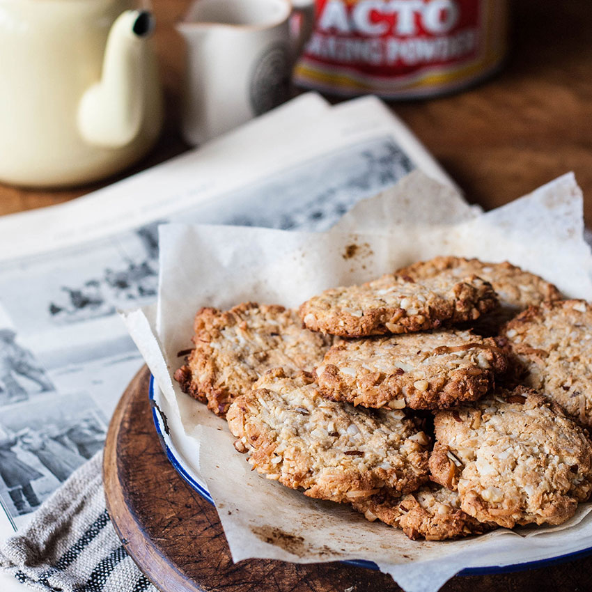 Anzac biscuits recipe – gluten free