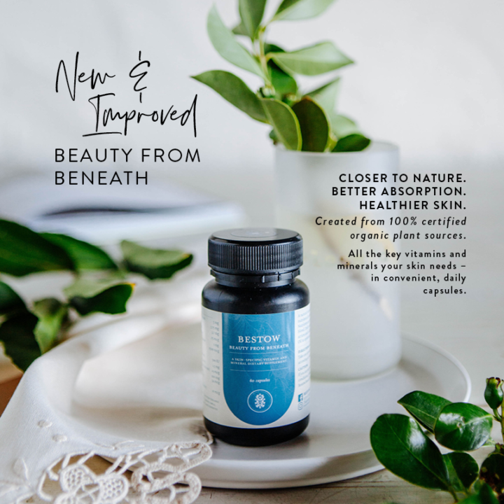 Bestow Beauty From Beneath | New and Improved Skin Supplement