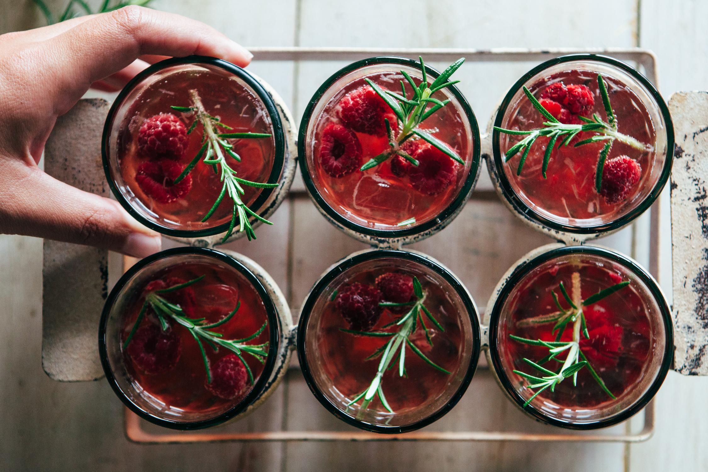 Recipe: Raspberry & Rhubarb Eternitea Punch