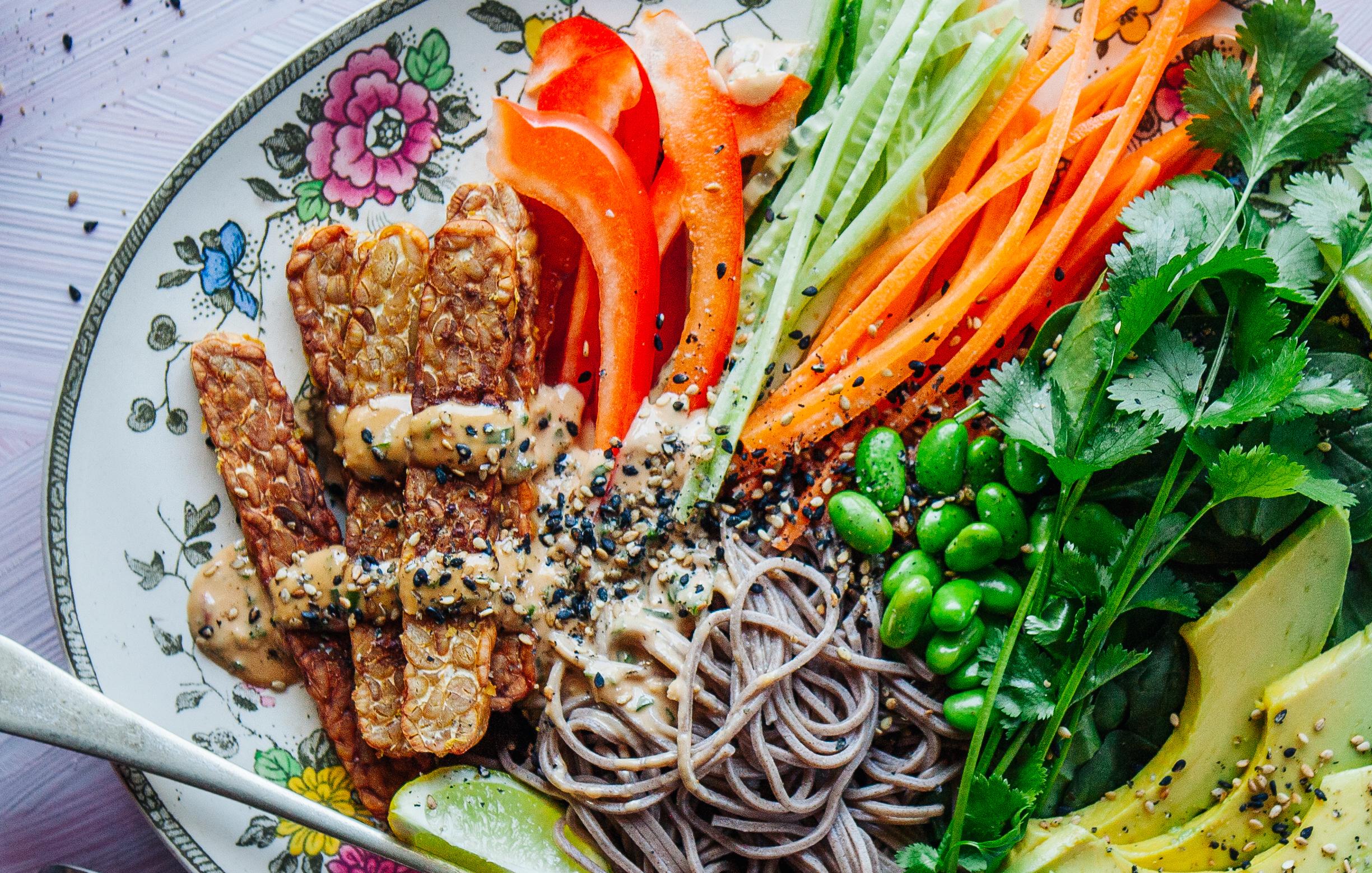 Recipe: Soba Noodle Salad